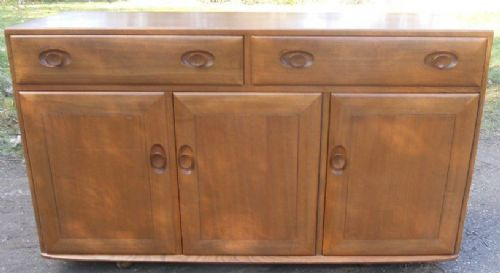 Ercol Light Elm Cupboard Sideboard